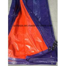 Blue Orange Waterproof PE Tarpaulin Cover