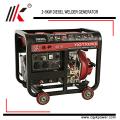 El generador de soldadura de 3 ~ 5kw utilizó el generador diesel del soldador para la venta