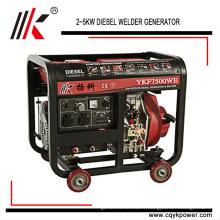 Groupe électrogène de soudure de YKF8500WE 50HZ / 60HZ dans la centrale électrique de générateur diesel avec l'Australie utilisé le générateur de soudeuse