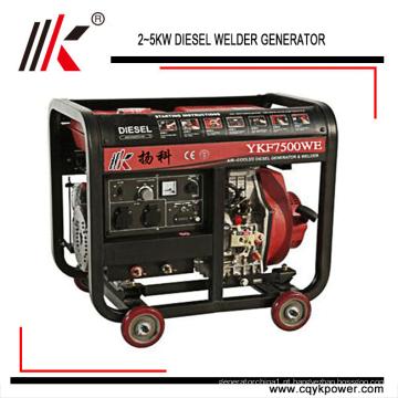 3 ~ gerador de soldagem 5kw diesel usado gerador de soldador para venda