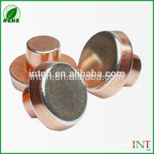 rebites de cobre T2