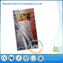видео-меню с 10-дюймовый ЖК-экран