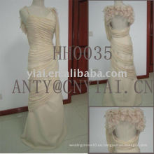 2011 nuevo diseño de grano vestido de noche HH0035