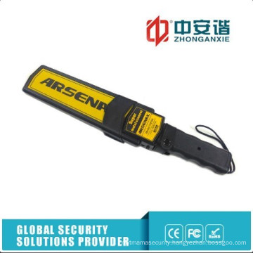 Prisons Security Purpose Hand Held Metal Detector Scanner with Rechargeable Battery
