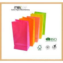 Сумка для покупок в крафт-бумаге для полноцветной печати