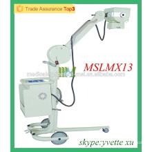 MSLMX13-M 50mA Unidad de rayos X de la cama Advanced X-ray Technology Móvil Dental Portable Xray Unit