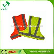EN20471 & CE padrão malha colete reflexivo colete de segurança vestuário de segurança