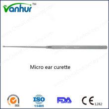 Instrumentos de Otoscopia Cureta Micro Ear