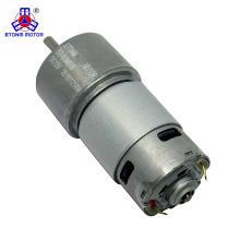 12 Volt Gleichstrommotor mit 8: 1 Getriebe 500 U / min