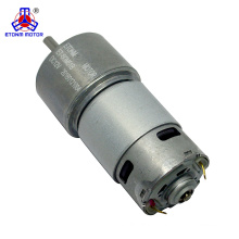 12 volt DC motor with 8:1 gearbox 500 rpm