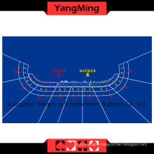 Baccarat Table Layout Blue 10 P (YMBL01B)
