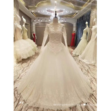 New Arrival 2017 Top Sale Marriage Long Sleeve Wedding Dresses