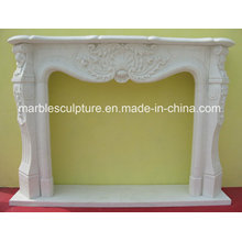 Natural Stone Home Decoration Cheap Marble Fireplace (SY-MF130)