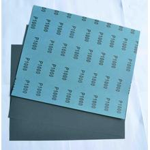 Kertas Lateks Blue Silicon Carbide Waterproof amplas