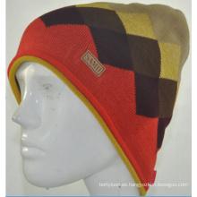Gorro de punto de punto Beanie Hat (KB-080005)