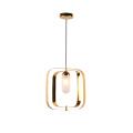 Nordic 2020 vintage rectangle hang lamp