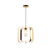 Nordic 2020 vintage rectangle hang lamp