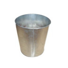 Galvanized Steel laundry bin With Wheel