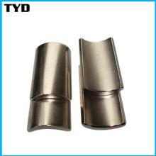 Permanent Strong Magnet Standard Neodymium Arc Magnet Grade N35