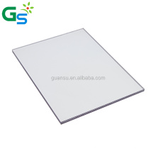 clear 10mm lexan polycarbonate sheet made from 100% Sabic material 10 years guarantee