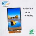 Exposição transparente de TFT LCD LCD da relação de Mipi do Pin de 7 polegadas 40