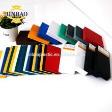 Carte de feuille / carte de mousse de PVC de JINBAO pour le matériel de support d'affichage