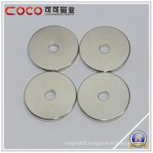 Permanent Neodymium Ring Magnet, NdFeB Magnet Generator with Hole