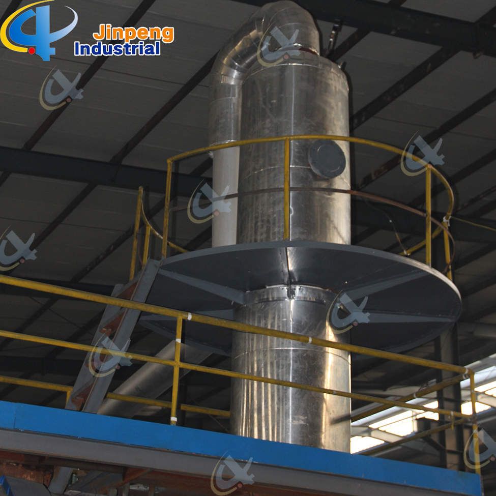 Pyrolysis Plastics Oil Distillation Plant