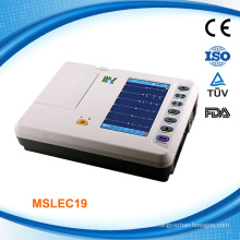 MSLEC19i sechs Kanäle Digital EKG Maschine