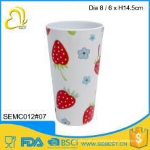 Copo de suco de copo de melamina de plástico de melhor qualidade
