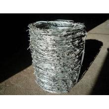 Precio de despliegue de alambre de púas revestido de zinc