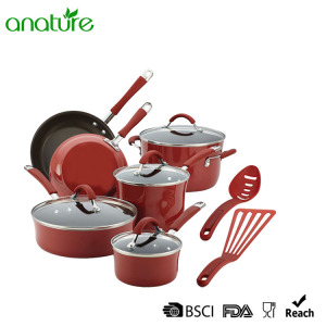 Best Price for for Pressed Aluminum Cookware Hot Sale Non Stick Kitchen Cookware Set supply to Central African Republic Exporter