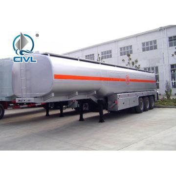 Semirremolque cisterna de combustible de tres ejes