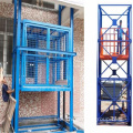 Double chain cargo hoist