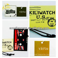 Top quality accessories dress tags