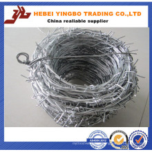 Barbed Iron Wire in Highway Fencing 50m Length in Roll