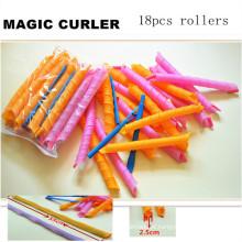 18pcs / 55 centímetros de cabelo mágico Luscious Curler (HEAD-60)