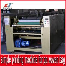 Fácil operación Simple Piece por la máquina de impresión de piezas de PP Woven Bag