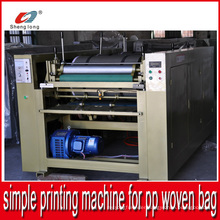 Easy Operation Simple Piece by Piece Printing Machine for PP Woven Bag
