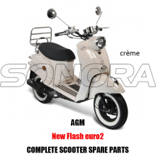 AGM NEW FLASH SCOOTER CORPO KIT PARTI MOTORE COMPLETO SCOOTER RICAMBI ORIGINALI RICAMBI
