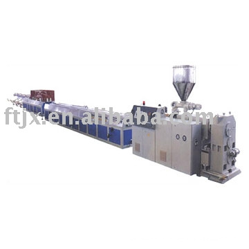 Chaîne de production en plastique de profil de PE / PPR / PVC / en bois