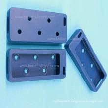 Douille en caoutchouc imperméable moulée par coutume d'USB de silicone de Anti-Poussière