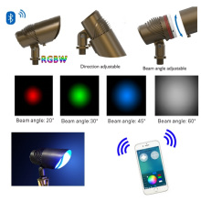 Waterproof IP65 Brass Beam Angle Adjustable LED Landscape Light