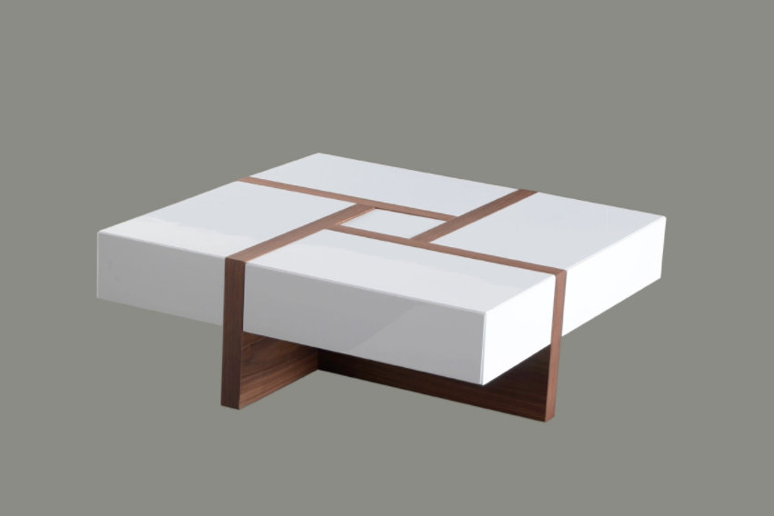Extension coffee table