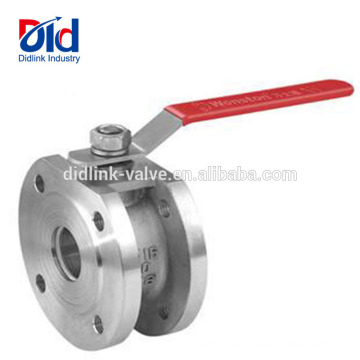Cf8m Pp 3 Piece Long Stem Cwx-15q Motorized Italian Type Thin 2 In Ball Valve Stainless Steel