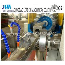 Maquinaria suave reforzada fibra de la manguera de jardín del PVC