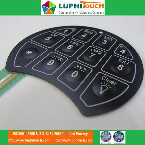 SecuRam SafeLogic Lock Membrane Keypad