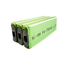 Batería Prismática Ni-MH F6 750mAh