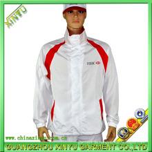 OEM Sportswear Siebdruck Weiß Jacke