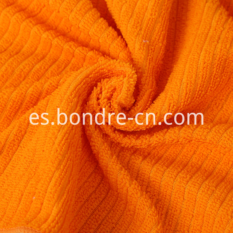 Needle Drop Weaving Microfiber Towel (6)